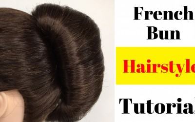 Easy-French-Bun-Using-Donut-Bun-Hairstyles-for-long-Hairs-Wedding-Hairstyles-Party-Hairstyles