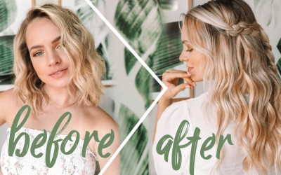 Hair-Extensions-For-Short-Hair-Hairstyles-to-Blend-Extensions-Kayley-Melissa