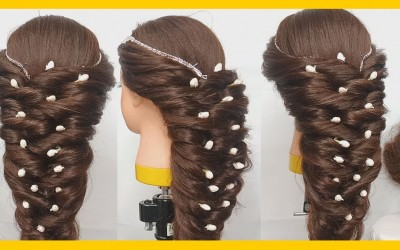 How-to-do-Long-Hairstyles-for-Bridesmaidsbride-girls-Easy-Steps