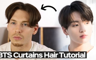 K-pop-Hairstyle-Mens-Curtains-Hairstyle-Tutorial-2019