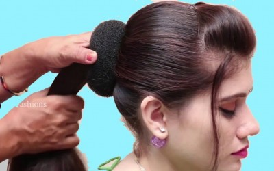 Latest-juda-hairstyle-for-wedding-or-party-hair-style-girl-New-hairstyles-for-long-hair