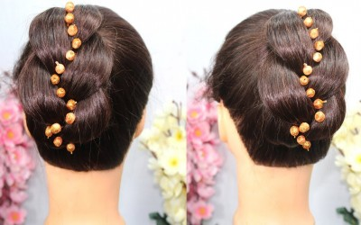 New-Latest-Classic-juda-for-thin-hair-Simple-Hairstyle-For-Everyday-Everyday-Bun-Hairstyle