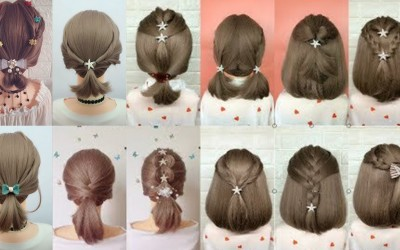 Top-35-Cute-Everyday-Hairstyles-For-Short-Hair-Hairstyles-For-School-Girls-Easy