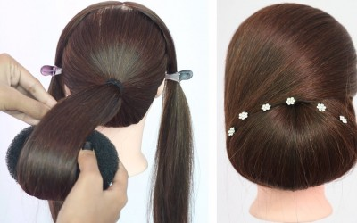 new-simple-hairstyle-updo-hairstyle-for-long-hair-easy-hairstyle-new-haiestyle-hairstyle